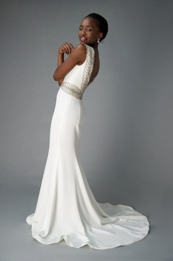 classic wedding gowns wow-factor dress, old Hollywood glamour