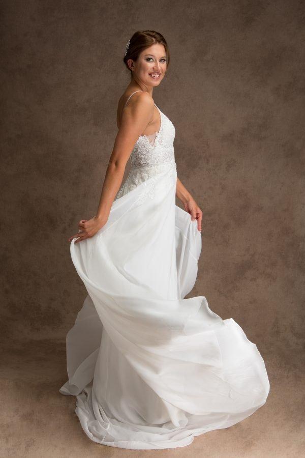 Grace + Ivory Lacy Wedding Dress