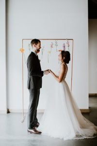 Soft Tulle Wedding Gown