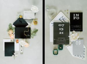Classic Wedding invitation inspiration minimalist