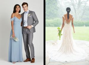 dusty blue wedding colors