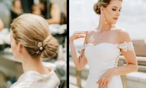 classic wedding bridal bun inspiration